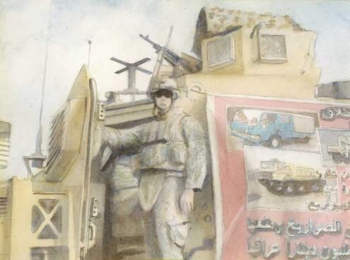 David Pierce and Justin Wilkens Paintings